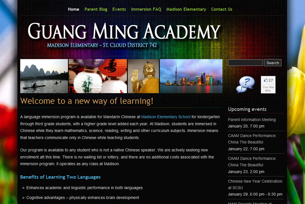 Guang Ming Academy at Madison Elementary