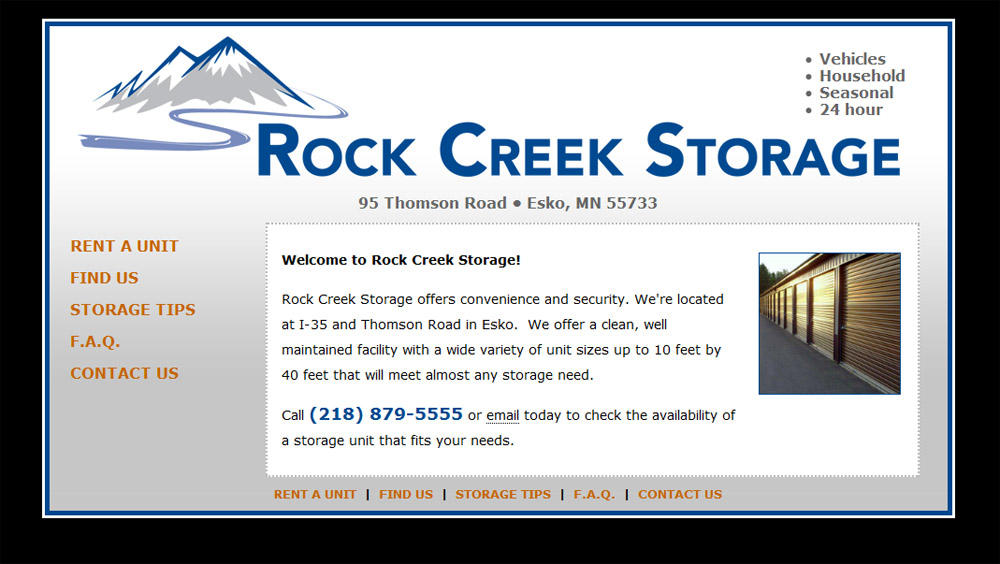 Rock Creek Storage